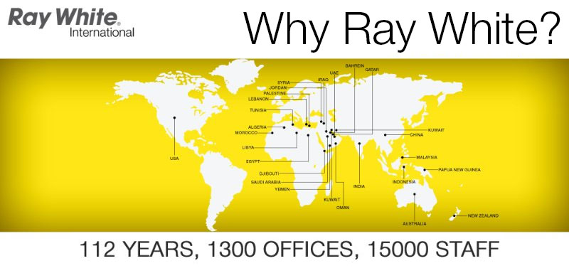 Why Ray White 113 years of experience 1300 office 15000 employees
