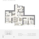 Downtown-Views-Emaar-Dubai-Floorplans-3BR-A