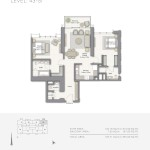 Downtown Views - Emaar - Dubai - Floorplans - 3BR A_tcm130-84566 (10)