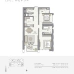 Downtown Views - Emaar - Dubai - Floorplans - 3BR A_tcm130-84566 (7)