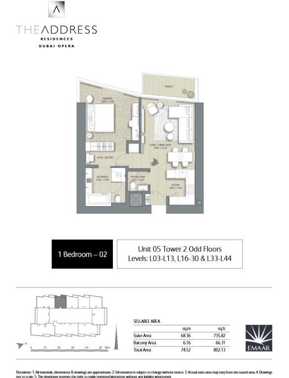 the address dubai opera residences dubai international