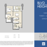 Tower 1 - 3BR - Unit 06 - L 25 to 39