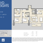 Tower 1 - 2BR - Unit 01