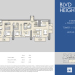 Tower 1 - 3BR plus - Unit 01 - L 25 to 39