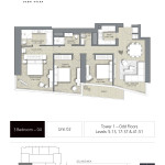 THE ADDRESS DUBAI OPERA TOWER floor plan Emaar