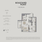 Boulevard Point Downtown Dubai Emaar Floor Plan