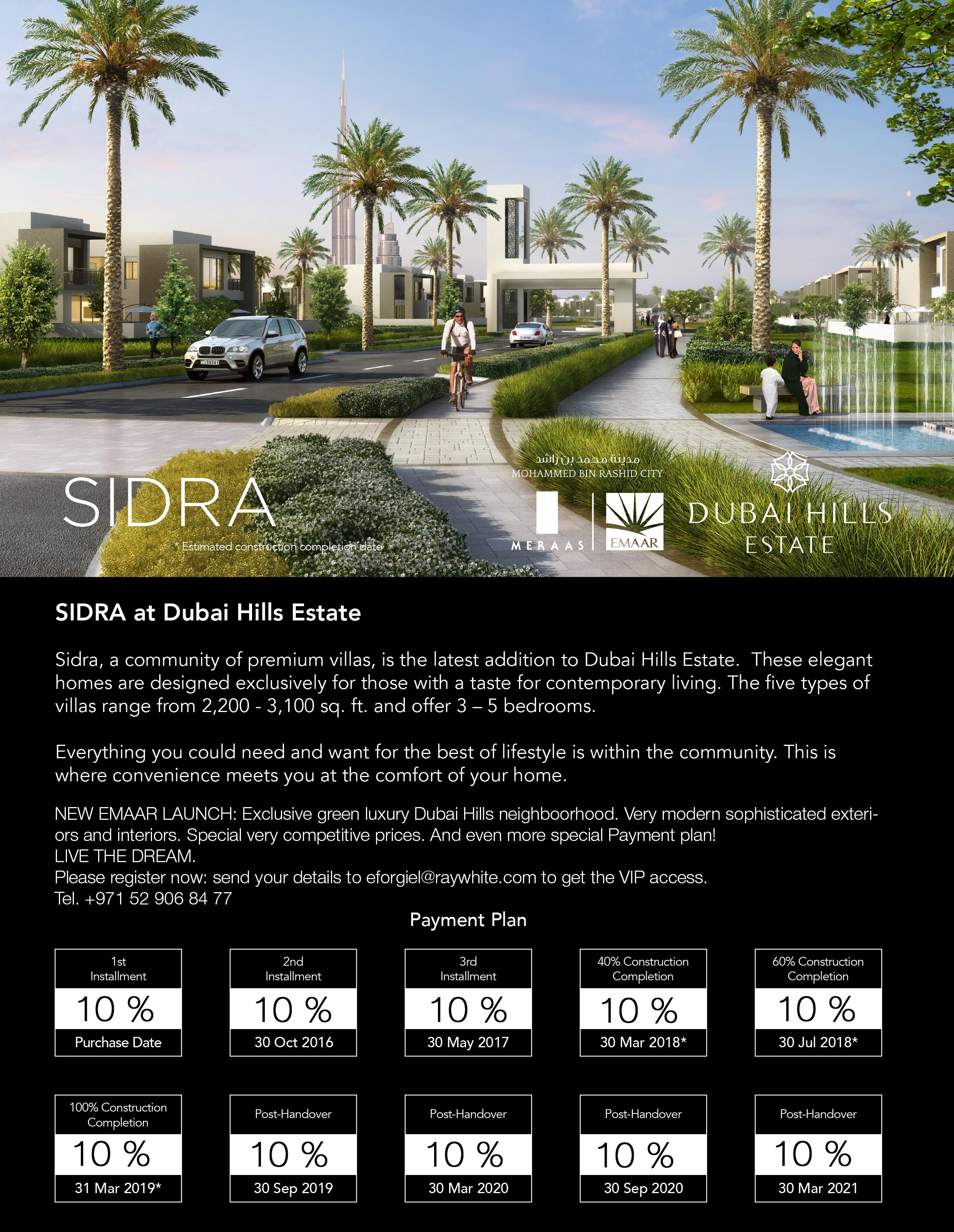 Sidra payment plan-V2
