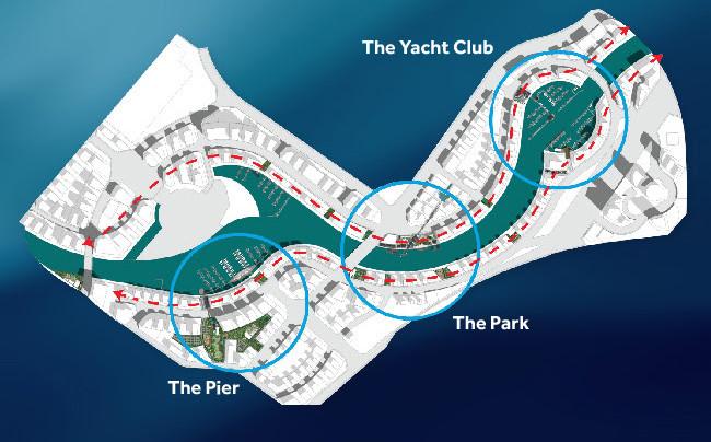 Marasi Business Bay Location