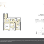 Downtown Views II T2 - Floor Plans For 2 Bedroom
