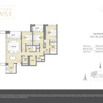 Downtown Views II T2 - Floor Plans For 3 Bedroom